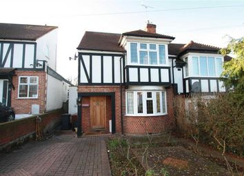 Thumbnail 4 bed semi-detached house for sale in Ashfield Avenue, Bushey