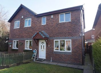 Thumbnail 3 bed semi-detached house for sale in Langton Close, Eccleston