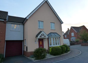 Thumbnail 4 bed link-detached house for sale in Bristol Road, New Costessey, Norwich