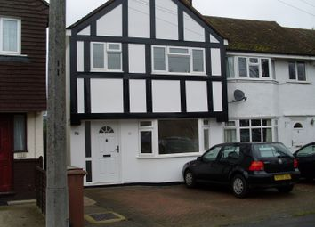 Thumbnail End terrace house to rent in Buckland Way, Worcester Park