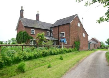 Thumbnail 5 bed detached house for sale in Yew Tree Farm, Lymers Lane, Fradswell, Staffordshire