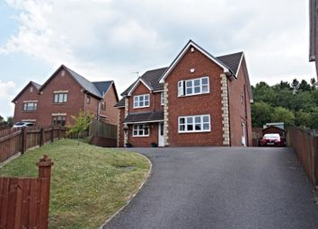 Thumbnail 5 bed detached house for sale in Lakeside, Tredegar