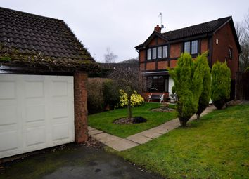 Thumbnail 4 bed detached house for sale in Summerhouse Close, Callow Hill, Redditch