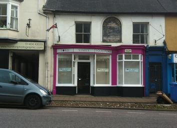 Thumbnail 2 bed flat to rent in High Street, Honiton