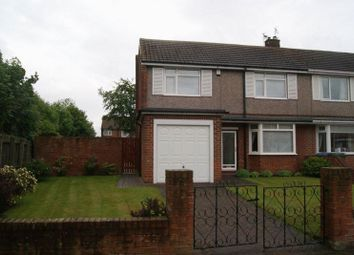 Thumbnail 3 bed property for sale in Seaton Avenue, Blyth
