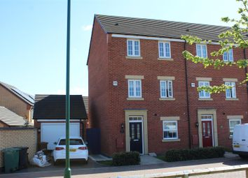 Thumbnail 3 bed end terrace house for sale in Aurora Way, Peterborough
