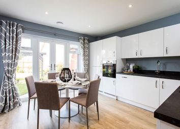 "Thumbnail 3 bed semi-detached house for sale in ""The Studland"" at Pinn Hill, Pinhoe, Exeter"