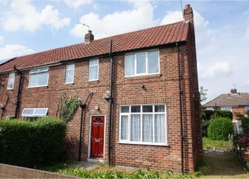 Thumbnail 2 bedroom end terrace house for sale in Alexander Avenue, York