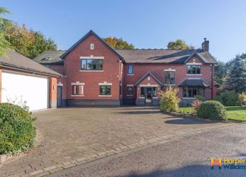 Thumbnail 5 bed detached house for sale in Ivy Farm Gardens, Culcheth, Warrington