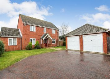 Thumbnail 4 bedroom detached house for sale in Yareview Close, Reedham, Norwich