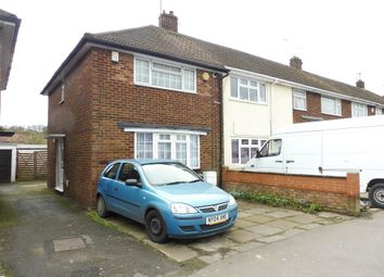 Thumbnail 3 bedroom end terrace house for sale in Dallow Road, Luton