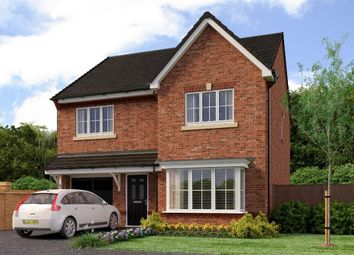 "Thumbnail 4 bed detached house for sale in ""Crompton"" at Aberford Road, Wakefield"