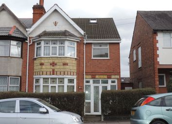 Thumbnail 4 bed semi-detached house to rent in East Park Road, Evington, Leicester