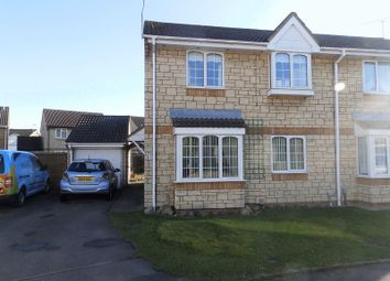Thumbnail 4 bed semi-detached house for sale in Delamere Drive, Stratton, Swindon