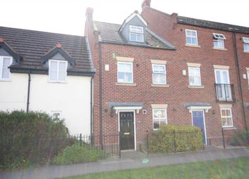 Thumbnail 3 bedroom town house for sale in Cropston Road, Anstey, Leicester