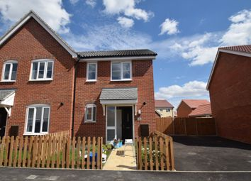 Thumbnail 1 bed semi-detached house for sale in Coachmaker Way, Hethersett, Norwich