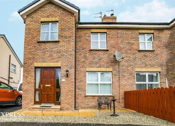 Thumbnail 3 bed semi-detached house for sale in Castlewood Crescent, Dervock, Ballymoney, County Antrim