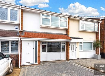 Thumbnail 3 bed terraced house for sale in The Poplars, Abridge, Romford