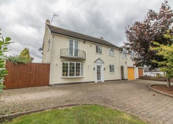 Thumbnail 5 bed detached house for sale in Main Street, Bruntingthorpe