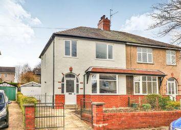 Thumbnail 3 bed semi-detached house for sale in Caernarvon Avenue, Burnley, Lancashire