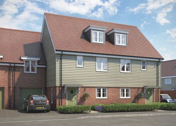 Thumbnail 3 bed town house for sale in The Rushmore At Beaulieu, Centenary Way, Off White Hart Lane, Chelmsford