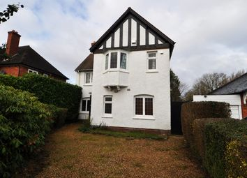 Thumbnail 4 bed detached house to rent in Oakfield Road, Selly Park, Birmingham