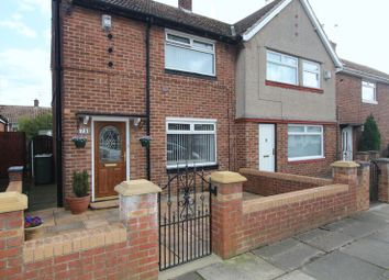 Thumbnail 2 bed semi-detached house for sale in Gillingham Road, Sunderland
