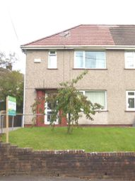 Thumbnail 2 bedroom semi-detached house for sale in Pencwmdu, Pontardawe, Swansea