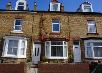 Thumbnail 3 bed terraced house for sale in Trafalgar Street West, Scarborough, North Yorkshire