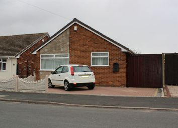 Thumbnail 3 bed detached bungalow for sale in Bagnall Street, Ocker Hill, Tipton