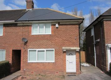 Thumbnail 3 bed end terrace house for sale in Weoley Castle Road, Selly Oak, Birmingham