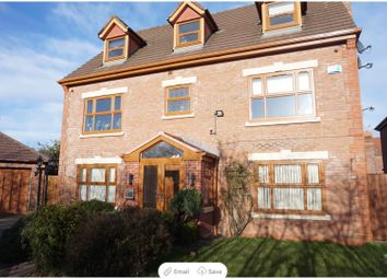 Thumbnail 6 bed detached house for sale in Alderwood Court, Widnes