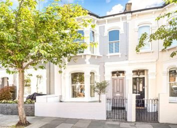Thumbnail 3 bed terraced house for sale in Alderville Road, Parsons Green, London