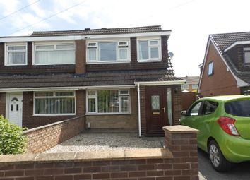 Thumbnail 3 bed semi-detached house to rent in Budworth Road, Great Sutton, Ellesmere Port