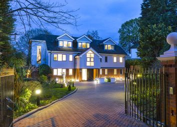 Thumbnail 5 bedroom detached house to rent in Coombe Hill Road, Kingston Upon Thames, Surrey