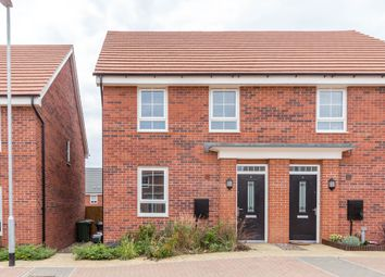 Thumbnail 3 bed semi-detached house for sale in Mercury Road, Wellingborough