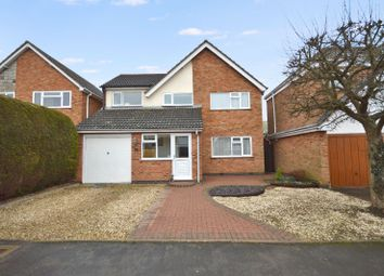 Thumbnail 4 bed detached house for sale in Pells Close, Fleckney, Leicester
