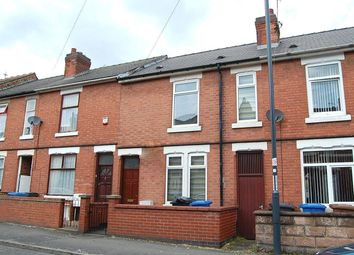 Thumbnail 3 bedroom terraced house to rent in Clarence Road, New Normanton, Derby