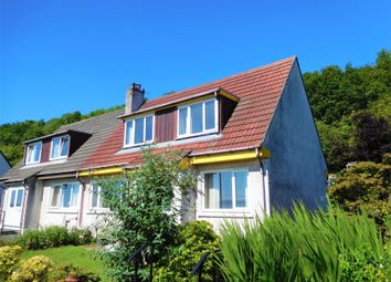 Thumbnail 3 bed semi-detached house for sale in 6 Miller Avenue, Innellan, Dunoon