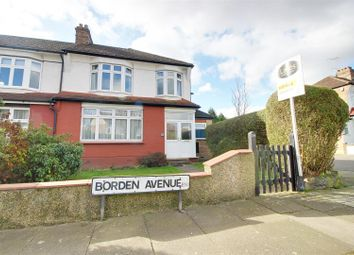 Thumbnail 3 bed terraced house for sale in Borden Avenue, Enfield