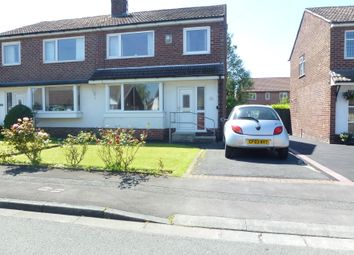 Thumbnail 3 bed semi-detached house for sale in Greystock Close, Bamber Bridge