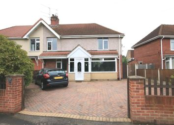 Thumbnail 3 bed semi-detached house for sale in Askern Road, Bentley, Doncaster
