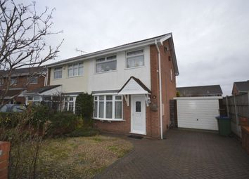 Thumbnail 3 bedroom semi-detached house for sale in Dawn Drive, Tipton