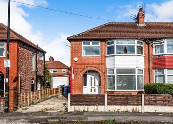 Thumbnail 3 bed semi-detached house for sale in Warbreck Grove, Sale, Trafford, Greater Manchester
