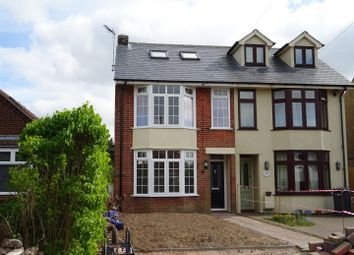 Thumbnail 3 bed semi-detached house for sale in Humber Doucy Lane, Rushmere St. Andrew, Ipswich