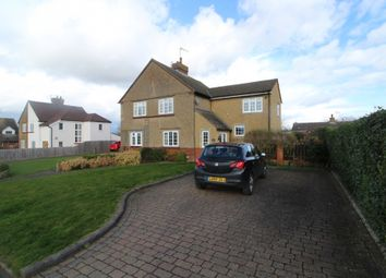 Thumbnail 3 bed semi-detached house for sale in Chicheley Road, North Crawley, Newport Pagnell, Buckinghamshire