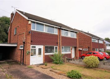 Thumbnail 2 bed semi-detached house for sale in Barnes Road, Stafford