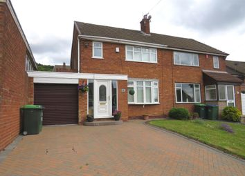 Thumbnail 3 bedroom semi-detached house for sale in Crendon Road, Rowley Regis