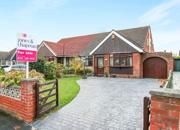 Thumbnail 3 bed semi-detached bungalow for sale in Buttermere Avenue, Whitby, Ellesmere Port
