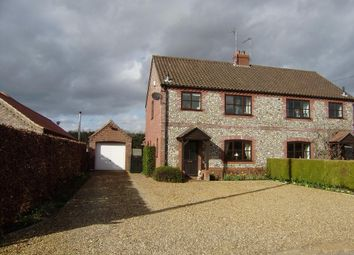 Thumbnail 3 bedroom semi-detached house to rent in Gayton Thorpe, King's Lynn